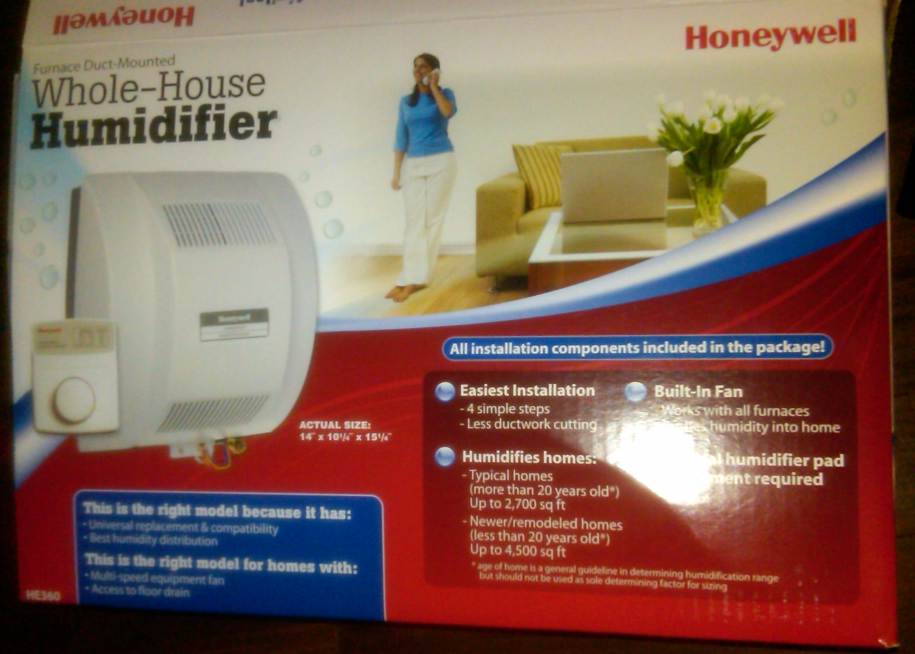 When I picked up the humidifier from Home Depot I went through the  #AE1A12
